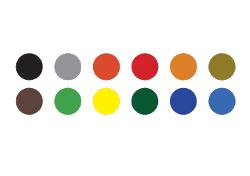 Unité tambour supplémentaire (parmi 12 couleurs standard ou Pantone personnalisé)