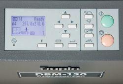 Panneau de commande du DBM-150